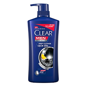 Dầu Gội Sạch Gàu Clear Men Deep Cleanse Sạch Sâu (900g)