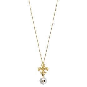 Dây Chuyền Galatea Jewelry Diamond In A Pearl 4626.04YW - Trắng