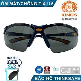Kính bảo hộ King's KY312B kính chống bụi, mắt kính chống trầy xước, chống tia UV (đen)