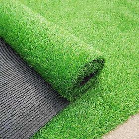 Thảm cỏ nhân tạo loại cao cấp, không độc hại, bền đẹp