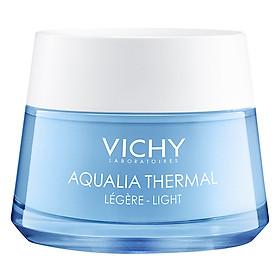 Kem Gel Dưỡng Ẩm Kích Hoạt & Giữ Nước Cho Da Thường & Da Khô Vichy Aqualia Thermal Rehydrating Light Cream (50ml) - MB067200