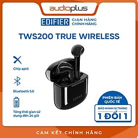 Tai nghe bluetooth true wireless Edifier TWS200 ( Bản quốc tế ) - Hàng chính hãng