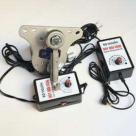 Máy đưa võng nguyên bộ tặng kèm 1 bộ nguồn chỉnh điện thay thế - Hàng chính hãng