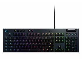 Bàn phím cơ Logitech G813 LIGHTSYNC RGB Tactile Switch - Hàng Chính Hãng