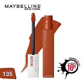 Son Kem Lì Maybelline Super Stay Matte Ink 5ml - Màu 135 Globetrotter