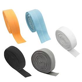 5x 2cm Elastic Flat Bias Binding Tape Craft Clothing Sewing Braided Rope