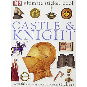 Ultimate Sticker Book Castle And Knight
