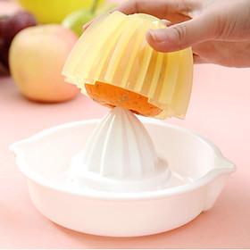 Bộ 2 cốc vắt hoa quả có nắp giữ chống tuột tiện lợi (loại to) - Hàng nội địa Nhật