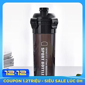 Bình Nhựa Đựng Nước Sports Lock & Lock HPL931NBK-PR 470ML - Đen