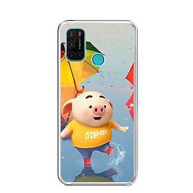 Ốp lưng điện thoại VSMART JOY 4 - Silicon dẻo - 0268 PIG23 - Hàng Chính Hãng