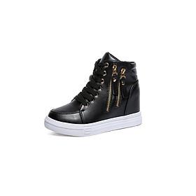 Giày boot nữ cổ cao cá tính BM065D