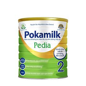 2 Hộp Sữa dinh dưỡng POKAMILK PEDIA 900g