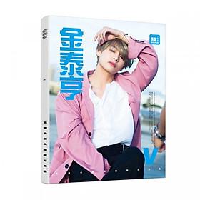 Photobook V Kim TaeHyung BTS mới nhất tặng kèm móc khóa BT21