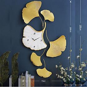 Đồng Hồ Phù Điêu - Đồng Hồ Treo Tường Hình Hoa Lá Đẹp