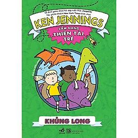 Sách - Cẩm nang thiên tài trẻ: Khủng long (tặng kèm bookmark thiết kế)