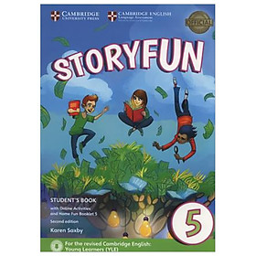Storyfun for Flyers 1 SB w Online Act and Home Fun Bkl, 2ed