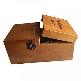 Hộp Gỗ Đồ Chơi Useless Box Giảm Stress