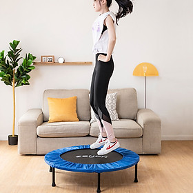 XiaomiZenph Foldable Muted Round Trampoline Kids Indoor Entertainment Tool Adult Fitness Workout Stability Training Trampoline-3