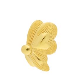 Hoa tai vàng 24k bướm nữ tính - 111E3770 (1 chiếc)