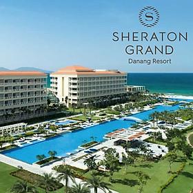 Sheraton Grand Đà Nẵng Resort 5* - Buffet Sáng, Hồ Bơi Vô Cực Dài 250m, Bãi Biển Riêng, Thương Hiệu Hàng Đầu