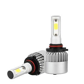 1pair Auto S2A 9005 6500K 72W 8000LM Car Headlight Bulbs Car Styling White LED Bulbs