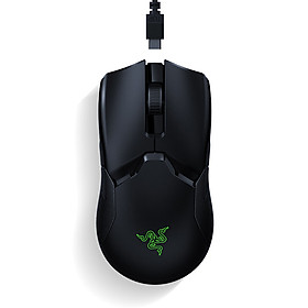 Razer Viper Ultimate Wireless Mouse with HyperSpeed Wireless 20000DPI FOCUS+ Optical Sensor Mercury White (with Charging