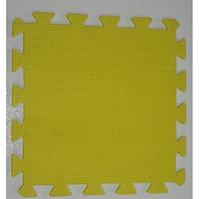 Thảm Cho Trẻ Thơ Trơn 60cmx60cm màu vàng