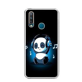 Ốp lưng điện thoại Vivo U10 - Silicon dẻo - 0334 PANDA05 - Hàng Chính Hãng