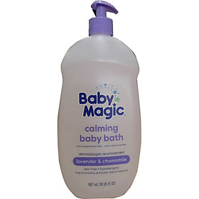 Tắm gội Baby Magic Calming Bath 887ml