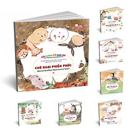 Combo sách thiếu nhi song ngữ: Bồi dưỡng FQ cho trẻ (7 chủ đề)