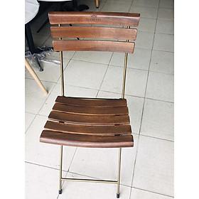 Ghế gỗ FANSIPAN (lưng cong,ngồi cong,sơn đồng)- Ghế cafe - Ghế nhà hàng