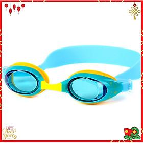 Kính Bơi Cho Trẻ Em Chuyên Dụng YESURE CLEACCO cao cấp chống tia UV ,chống sương mờ chất liệu ABS thân thiện với trẻ em, mặt kính trong , giúp quan sát tốt khi bơi - Màu Vàng Phối Xanh