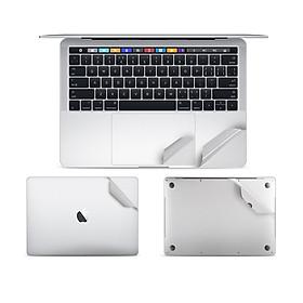 Bộ dán Full JRC 5in1 bảo vệ cho Macbook pro 13.3 có ổ đĩa (A1278) - Hàng nhập khẩu