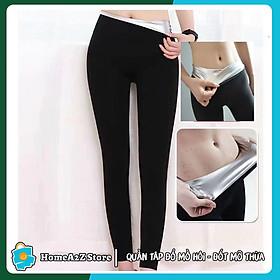 Quần tập thể dục giảm mỡ bụng, ra mồ hôi, quần tan mỡ, thon gon cơ thể trong 1 tuần