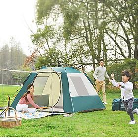 Lều Cắm Trại Dã Ngoại, Lều Du Lịch Di Động Gập Gọn Dễ Dàng - Giao Mẫu Ngẫu Nhiên