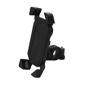 Giá đỡ điện thoại dành cho xe máy (màu đen) - Tặng kèm quạt cắm USB mini