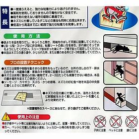 Bộ 3 bẫy dính chuột tiện dụng - Hàng nội địa Nhật