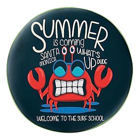 Gối Ôm Tròn Cua Summer Is Coming GOAA095