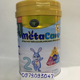 Sữa bột Metacare 2 – lon 900g date: 12/2022