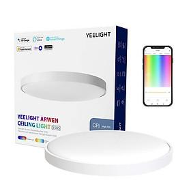 Đèn Led Ốp Trần Thông Minh Yeelight Arwen S450/S550 - 50W - Led RGB hắt trần - Hỗ trợ Homekit, Mihome Global - Hàng chính hãng