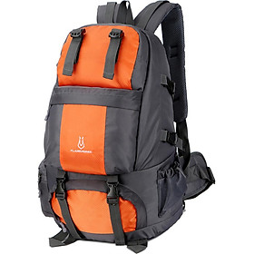 50L Hiking Backpack Waterproof Outdoor Sport Travel Daypack Bag with Shoe Compartment for Climbing Camping