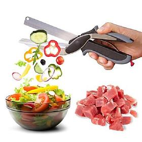 Kéo cắt gà - thịt- rau, củ quả 3 In 1