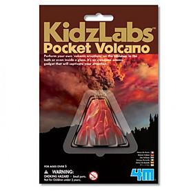 Đồ chơi khoa học - Mô hình núi lửa bỏ túi