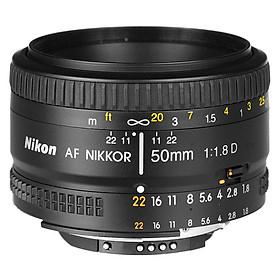 Ống Kính Nikon AF 50mm F1.8D (Đen) - Hàng Nhập Khẩu