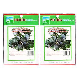 Bộ 2 Gói Hạt Giống Tía Tô Phú Nông PN130625-200 (2g / Gói)