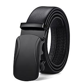 Thắt lưng nam TL09CA khóa tự động dây da cao cấp - Dây lưng nam mặt khóa hợp kim không gỉ sơn công nghệ cao phong cách sang trọng đẳng cấp