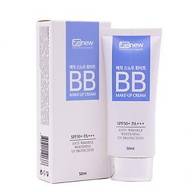 Kem nền trang điểm đa năng 3 in 1 BB ma thuật cao cấp Benew Magic Snow White Cream che phủ hoàn hảo SPF 50 PA+++ (50ml) - Hàng Chính Hãng