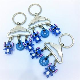 Combo 3 móc khóa treo chuột bay xanh đáng yêu và độc đáo
