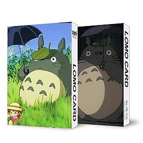 (KHÔNG KÈM HỘP) Hộp ảnh lomo in hình HÀNG XÓM CỦA TÔI LÀ TOTORO anime 30 tấm dễ thương xinh xắn