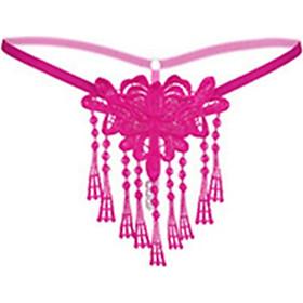 Quần nữ kết dây sexy lọt khe gợi cảm - Màu hồng đậm